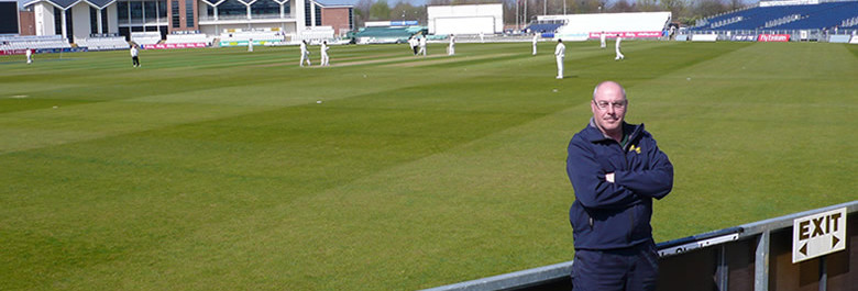 David Measor Head Groundsman Durham