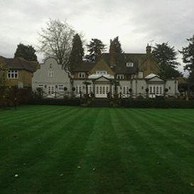 Example 5 of lawn care completed by Ben Lambert