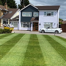 Lawn care in Cardiff