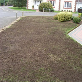 Example 5 of lawn care completed by Malcolm Garlick