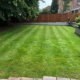 Lawn care in Oakham