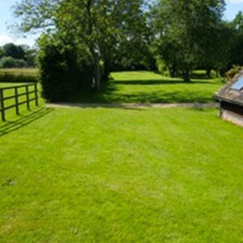 Example 2 of lawn care completed by Simon Marsh