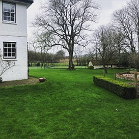Example 6 of lawn care completed by Tim Parker